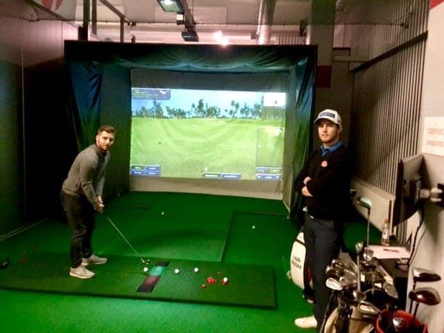 uusittu-golfsimulaattori