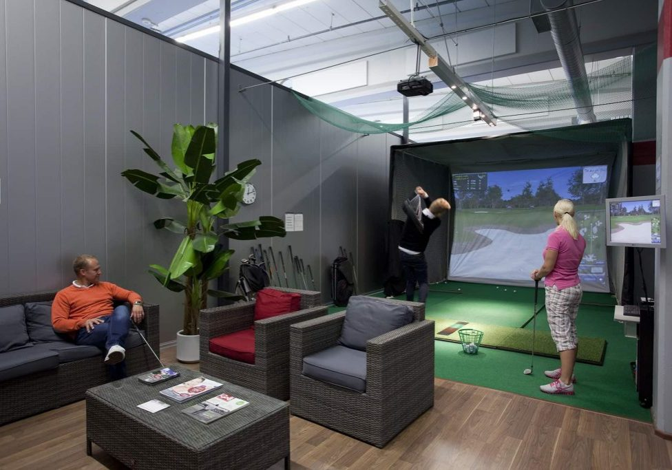golf simulaattorin tila